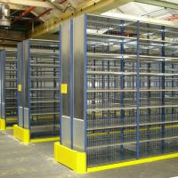 TS Shelving with Grid Panel